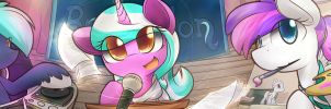 BronyCon 2014 - About Us Header by DShou