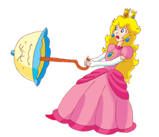 Peach en defense by ZeFrenchM