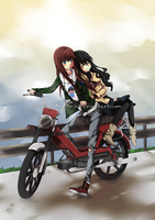 Commission: Milly + Hisame by AnaKris