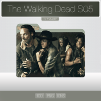 The Walking Dead S05 (Folder Icon) by YosemiteDesign
