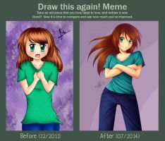 Meme: Before and After by Canariam