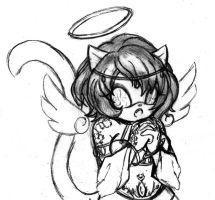 meownyo as angel kitty by meownyo