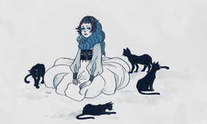 Les Chats by pearsfears