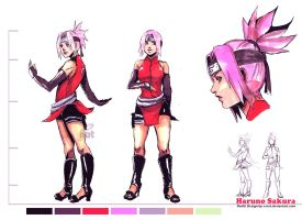Sakura design by e-nat