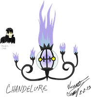 Chandelure Flash Project by DeathlyXpecter