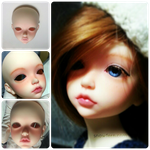 A blurry preview of my doll by Snowfern