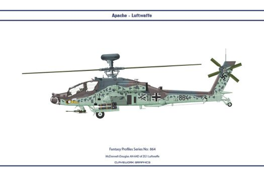 Fantasy 864 AH-64D Germany by WS-Clave