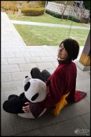 Hetalia Hong Kong - Little buddy by Nazu-chan