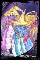 Black mages by Lily-Carroll