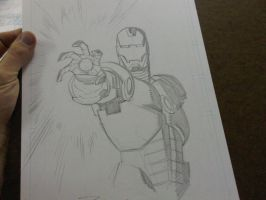 Ironman sketch by RyanOttley