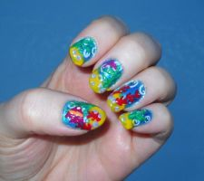 Underwater Nails by Animalluver1985