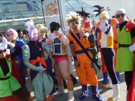 Dragonball Z group by Elle-Ectricity