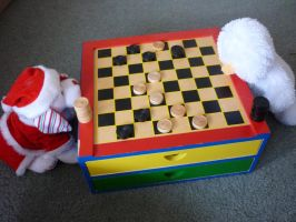 Checkers Game by CatLover924