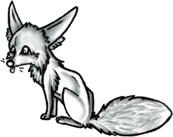 Free foxy pose by MooiLeven