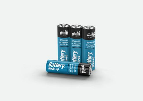Battery AA Mock-up by kenoric