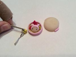 Cute little my melody bento box by AlphaChoconess95