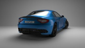 Maserati Back View by curux