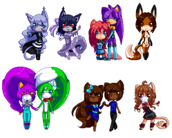 Pixel Cuties xi by Patti-Katti