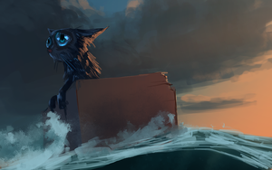Spitpaint :: Cast Away by MissWiggle
