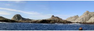 Farallon Islands panoramic by DR3AMS1nD1G1TAL