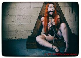 bound and chained below the cross 1 by godsmistake