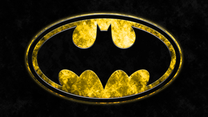 Batman Grunge Logo Wallpaper by RussJericho23