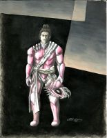 Madragan, Armored Virtual Soldier (pink) by onlycomeoutatnight