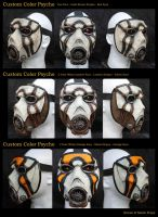Custom Color Borderlands Psycho Masks by SKSProps