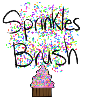 Sprinkles Brush by 18Gingasoldier