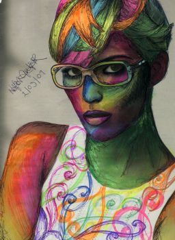 Living in colour by nafia-the-artiste
