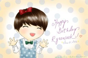 Happy Birthday Ryeowook!! :3 by Lanaleiss