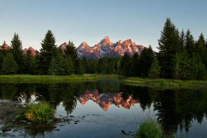 Teton Sunrise by SonjaPhotography