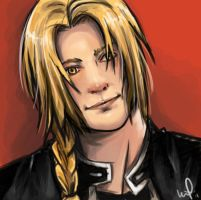 Edward Elric by peace-of-hope