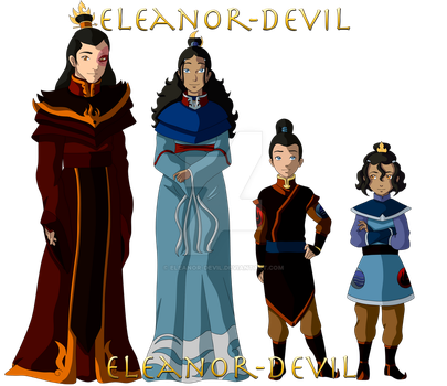 Avatar Next Gen - Fire Royal Family Ver.1 by Eleanor-Devil
