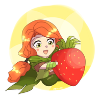 Strawberry by keterok