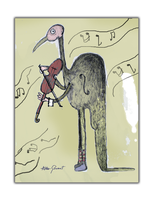 Violinman and the birdy song by altergromit