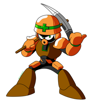 Mega Man Mythril - Met Man by TEHTACOMAN12321