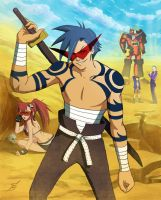 KAMINA!!! by sagasketchbook