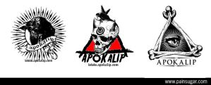 apokalip logo by painsugar