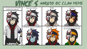 Naruto clans meme by DaGreatVincE
