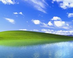 Windows XP Ireland with water by Cadish