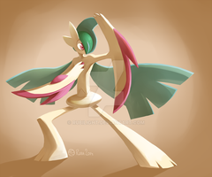 Mega Gallade by Rubilight