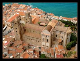 Over The Roofs - Duomo - Cefalu by skarzynscy