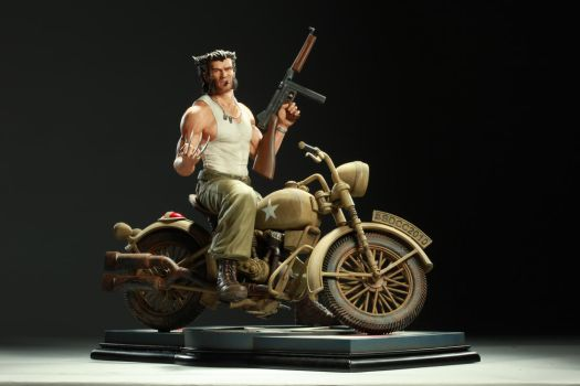 WWII Logan: Front View Lit by poboyross