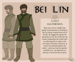Earthbender Bei Lin by Miss-Melis
