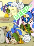 Comic Page Trial by zeratanus
