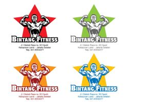 Bintang Fitness Center Logo by astayoga