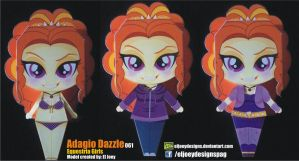 Adagio Dazzle Completed Model by ELJOEYDESIGNS