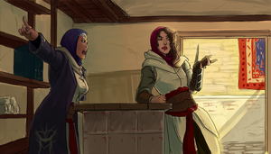 Genderbend!Assassins: Do your job right! by milkaru