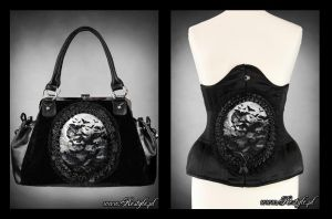 Vamp Handbag and Belt by Euflonica